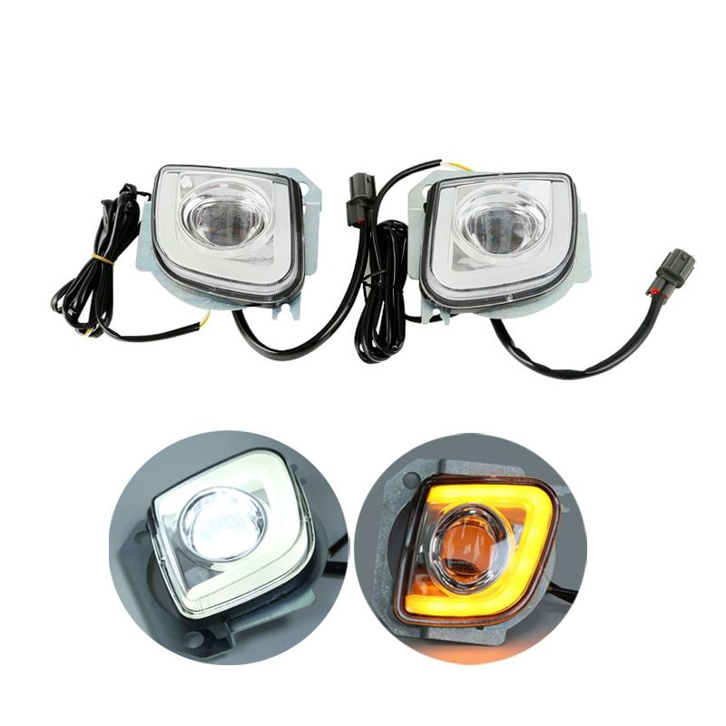 Motorcycle LED Turn Signal Driving Fog Light For Honda Goldwing GL1800 F6B Valkyrie GL18RFL 2012-2017 13 14 15 16