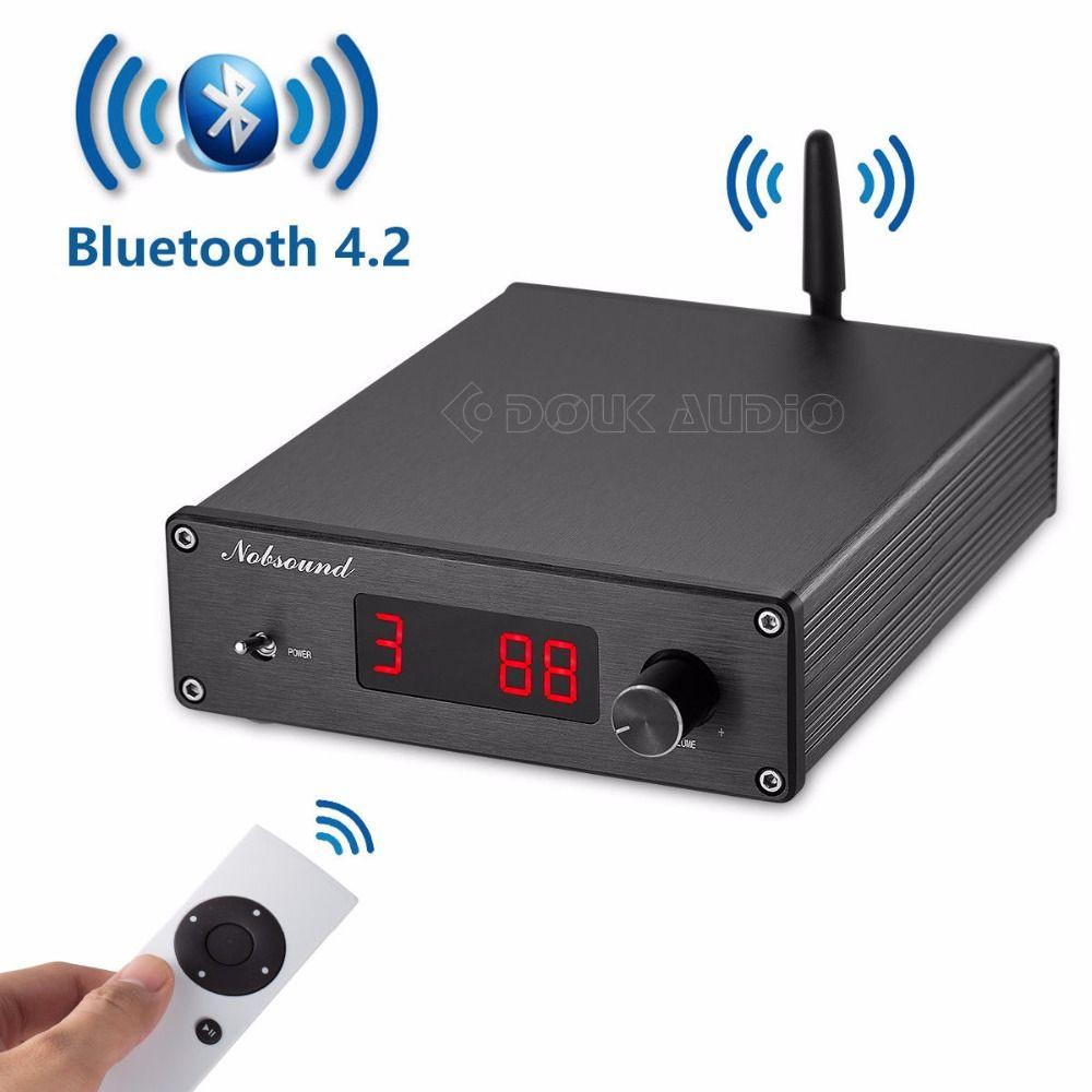 Nobsound PGA2310 Bluetooth 4,2 Audio Empfänger Hallo-fi Vorverstärker Fernbedienung