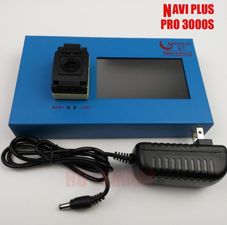 ip box NAVI PLUS pro3000 box chip programmer 64bit+32 bit 2IN1 5s 6 6plus change serial sn ipxd 2 3 4 5 6 bypass icloud account