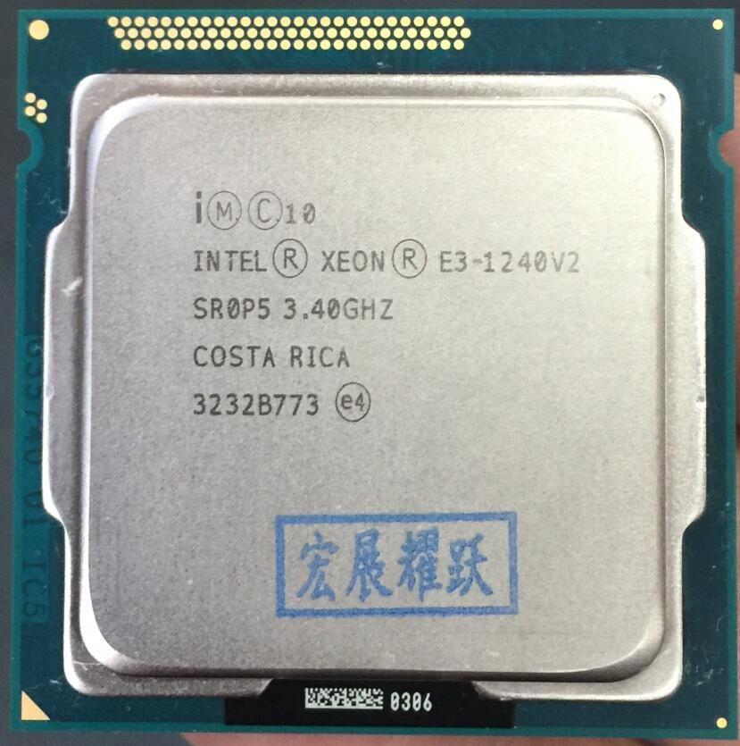Intel Xeon Prozessor E3-1240 V2 E3 1240 V2 Quad-Core Prozessor LGA1155 Desktop-CPU