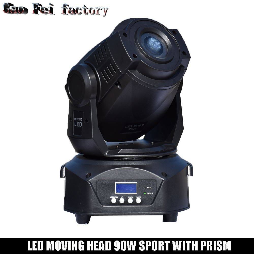 Leier Spot Moving Head LED Licht 90 W Gobo mit 3 gesicht prism für DJ Bühne Theater Disco Nachtclub