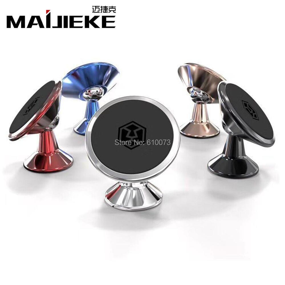 Universal Kfz-halter 360 Grad Magnetische Handy-Halter Für iPhone Magnet Mount Dash Halter Für Samsung
