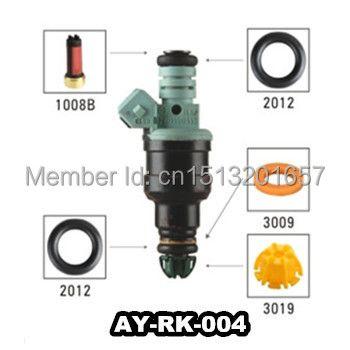 AY-RK004 0280150440 kit de réparation d'injecteur de carburant embouts de filtre pour voiture bmw E36/E39/Z3/328i/528i/M3/325i 525i avec 40 pièces/sac