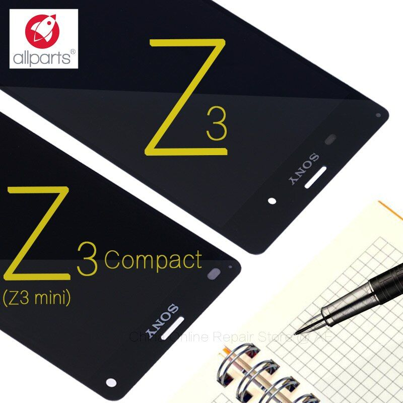 ORIGINAL LCD For SONY Xperia Z3 Compact Display Frame Z3 Mini D5803 D5833 Replacement Display For SONY Xperia Z3 LCD D6603 D6633