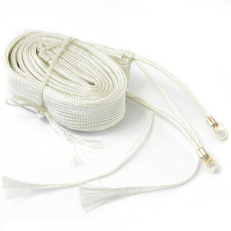 New 1 PCS  3M  White Exhaust Thermal Warp Tape Stainless Electric Heating Band Ties  T0267 P10