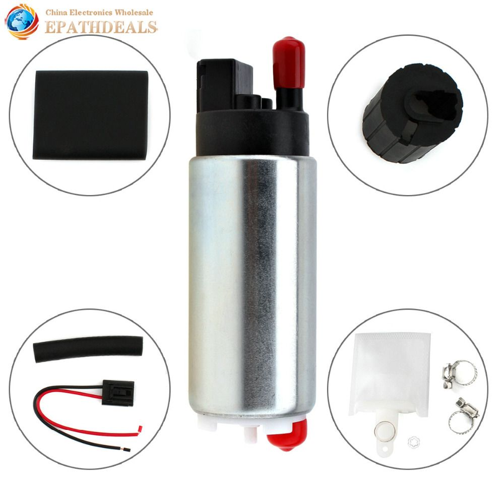 GSS342 255Lph High Flow Universal In-tank Gasoline Auto Car Fuel Pump for Nissan Toyota Honda Buick Racing and Tuning Cars