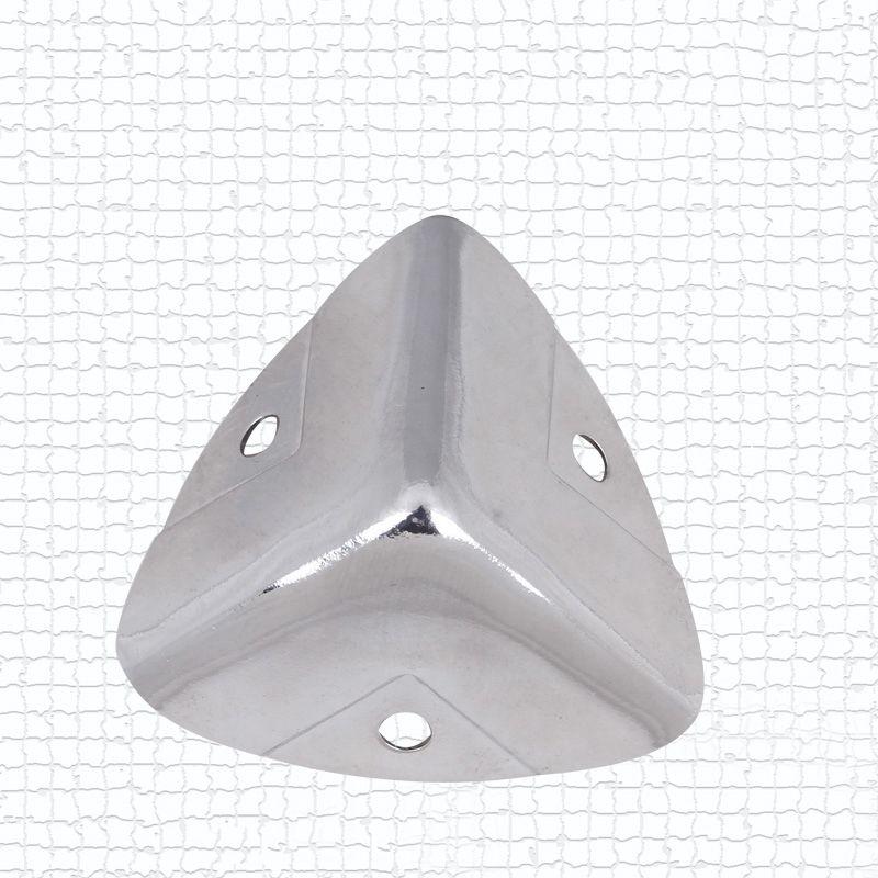 NRH 7401-28B verchromt ecke Schutz Top qualität flightcase roadcase leistung ausrüstung fall cornerite chrom-finish