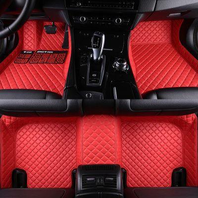 HLFNTF Car floor mats for BMW 3 5 7 Series E70 E71 E90 F30 E60 F48 E83 F10 F11 F01 G11 X1 X3 X4 X5 X6 F25 F15 F16 carpet liner