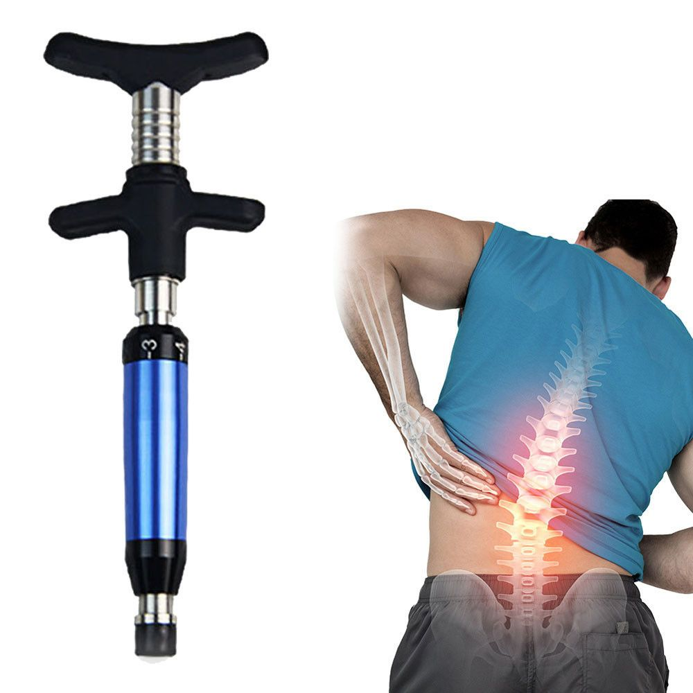 Spine Chiropractic Adjusting Tool Impulse Adjuster Spinal Chiropractic Activator Blue Chiropractic 25cm Drop Shipping 3j05