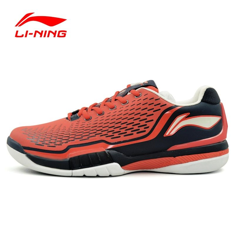 Li-ning hombres Tenis Zapatos Amortiguación Estabilidad Profesional Zapatillas Forro Transpirable Deportes Zapatos Li-ning ATAJ005 XYW009