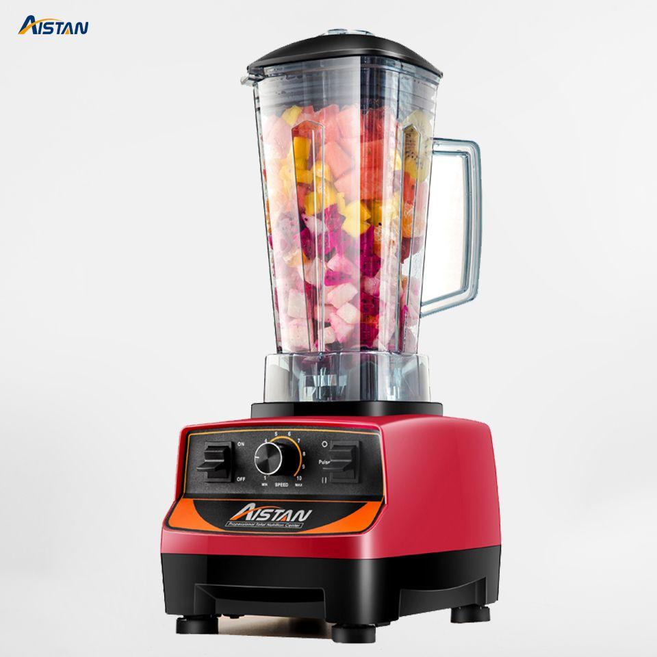 A5200 Elektrische Multifunktionale Hohe Leistung Mixer für Smoothies Saft 3HP BPA FREI 2 Liter