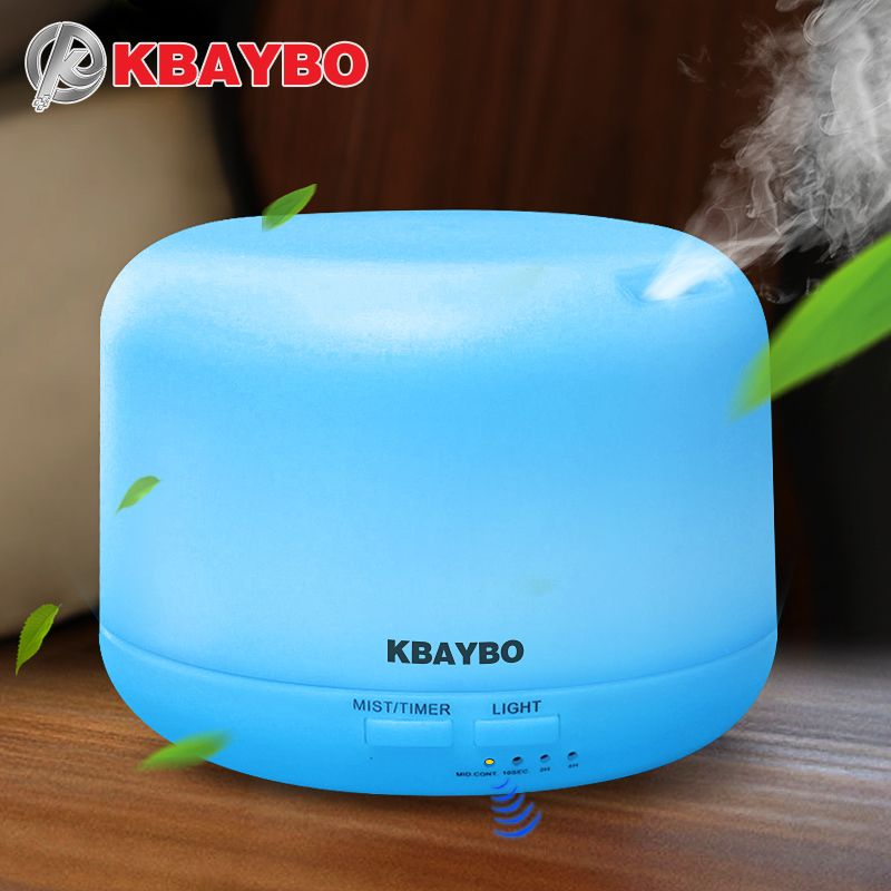 Ultrasonic Aromatherapy Humidifier Essential Oil Diffuser Air Purifier for Home Mist Maker Aroma Diffuser Fogger LED Light 300ML