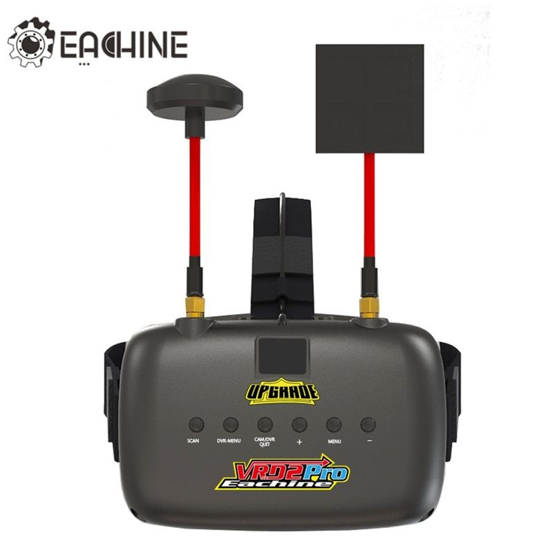 New Eachine VR D2 Pro Upgraded Open Source 5 Inches 800*480 40CH 5.8G Diversity FPV Goggles w/ DVR Lens Adjustable FPV Goggles