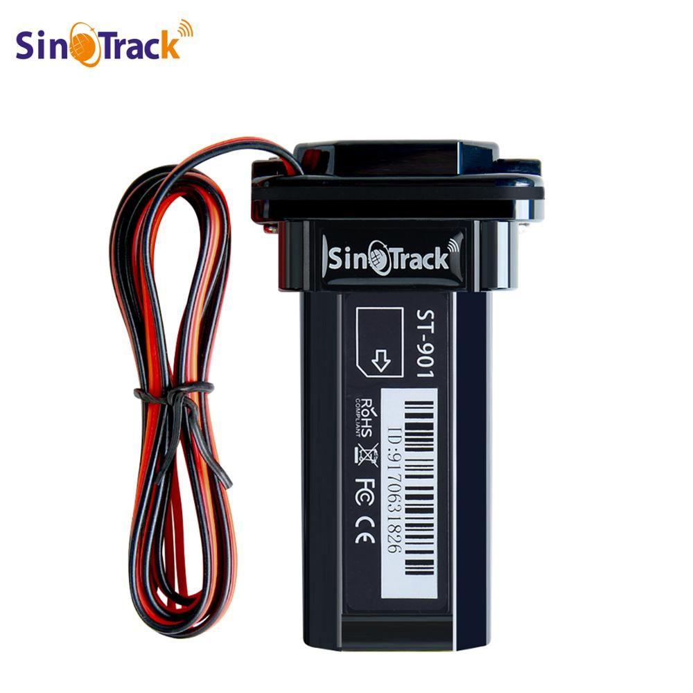 Mini ST-901 imperméable de traqueur de GPS de GSM de batterie de bâtiment pour le véhicule de moto de voiture dispositif de 3G WCDMA avec le logiciel en ligne de suivi