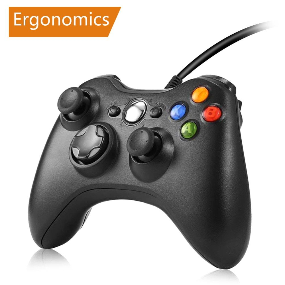 Manette de jeu pour Xbox 360 manette filaire pour XBOX 360 Controle manette filaire pour XBOX360 manette de jeu manette de jeu Joypad