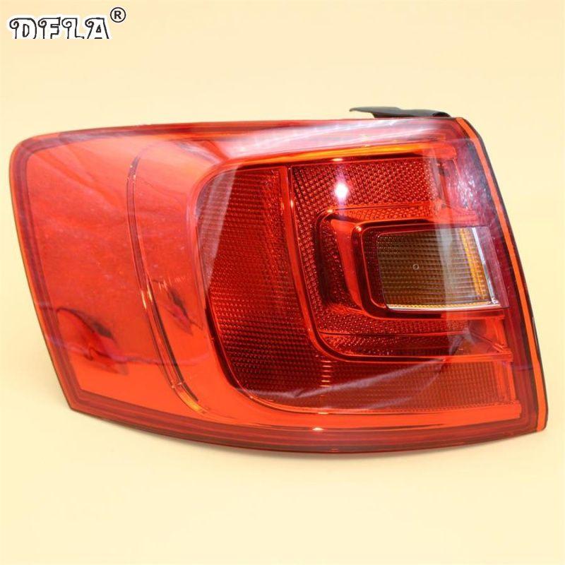 Car Light For VW Jetta V MK5 Facelift Sendan 2011 2012 2013 2014 Car-Styling Rear Tail Light Lamp Left Side Outer LHD