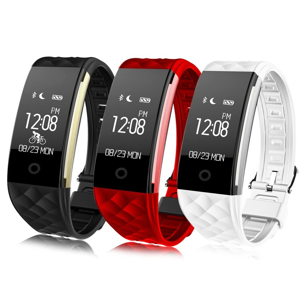 D'origine S2 Smart Band Bracelet Bracelet de Fréquence Cardiaque Podomètre Sommeil Fitness Tracker Bluetooth 4.0 Smartband Bon que fitbit