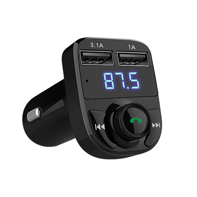Bluetooth гарнитура для авто громкой связи множество fm-передатчик MP3 плеера 5 В 4.1a Dual USB Автомобильное Зарядное устройство Поддержка TF карты 1 г -32 ...