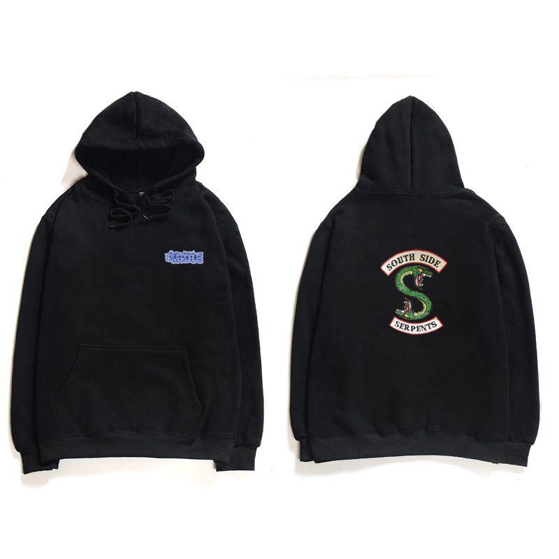 Riverdale Hoody Harajuku Loose Hoodie Sweatshirt Men/Women Autumn Winter Fashion Tracksuit Sweatshirt Women Oversize Sweatshirt