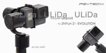 PGY gopro hero 5 adapter clip holder Zhiyun Z1 Evolution Camera Accessories gimb