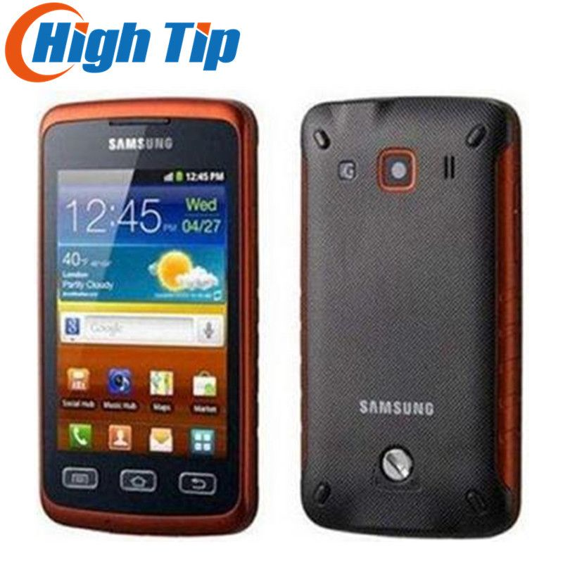 Original Samsung S5690 Galaxy Xcover Android GPS WIFI 3.15MP 3.65 inch TouchScreen Unlocked Refurbished Cell Phone