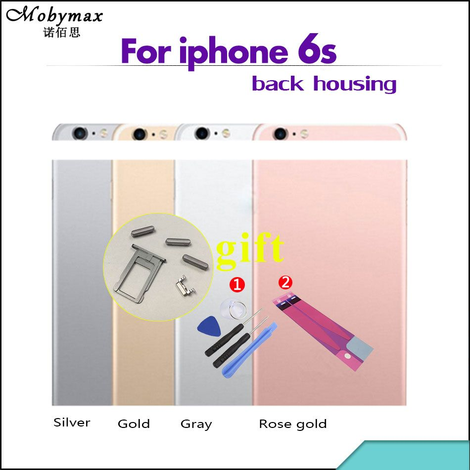 Chassis Back Housing Battery Cover Fundas Coque for iPhone 6S A1688 A1633 A1700 4.7