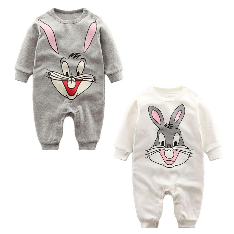 2017 Детские ползунки с длинным рукавом 0-12 м Одежда для малышей Комбинезоны для девочек для Одежда для новорожденных мальчиков и девочек Комб...