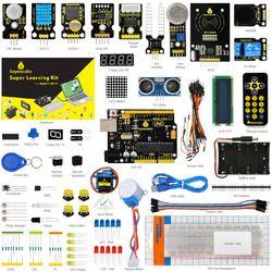 Keyestudio Super Starter kit/Kit D'apprentissage (UNO R3) pour Arduino L'éducation avec 32 Projets + Mode D'emploi + RFID 1602 + PDF (en ligne)