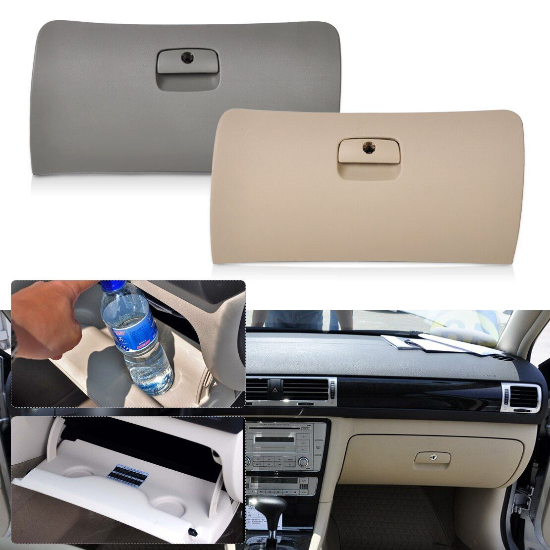 CITALL 3B1857122F 06B129723J Car Storage Glove Box Drawer Cover Lid fit for VW Passat B5 1998 1999 2000 2001 2002 2003 2004 2005