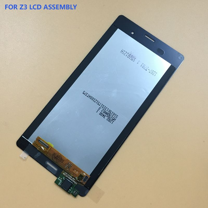 For SONY Xperia Z3 LCD Screen Dual D6603 D6633 D6653 L55T Touch Screen Digitizer Panel + LCD Display Monitor Assembly