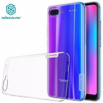 Cas pour Huawei Honor 10 NILLKIN Nature TPU clair Transparent étui souple honor 10 honor 9 couverture arrière avec vendue au détail paquet