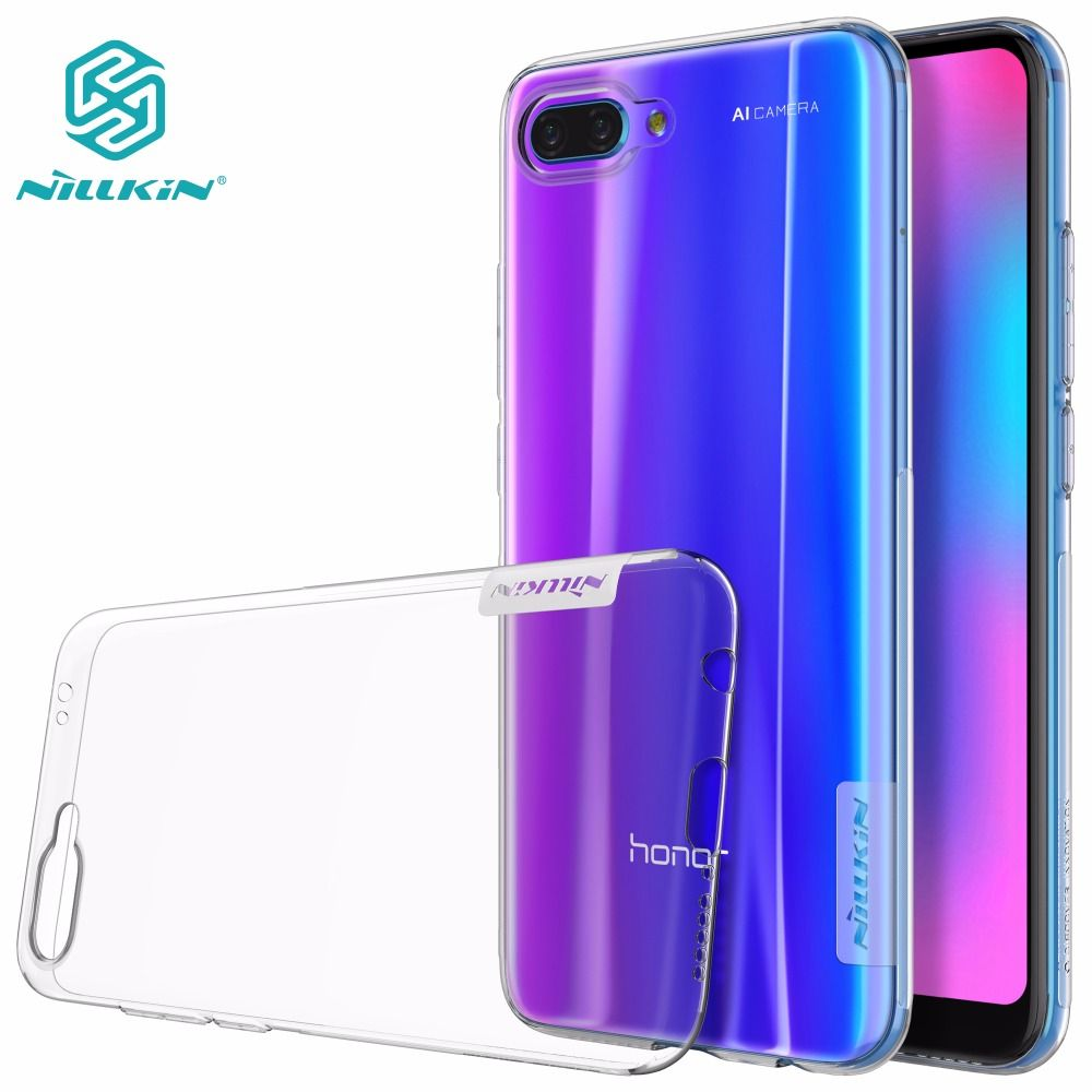 case for Huawei Honor 10 NILLKIN Nature TPU clear Transparent soft case honor 10 honor 9 back cover with retailed package