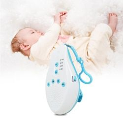 Sommeil de bébé Sucettes Machine À Sons Blanc Bruit Enregistrer La Voix Capteur avec 8 Apaisant Son Auto-off Minuterie Pour La Maison bureau Voyage