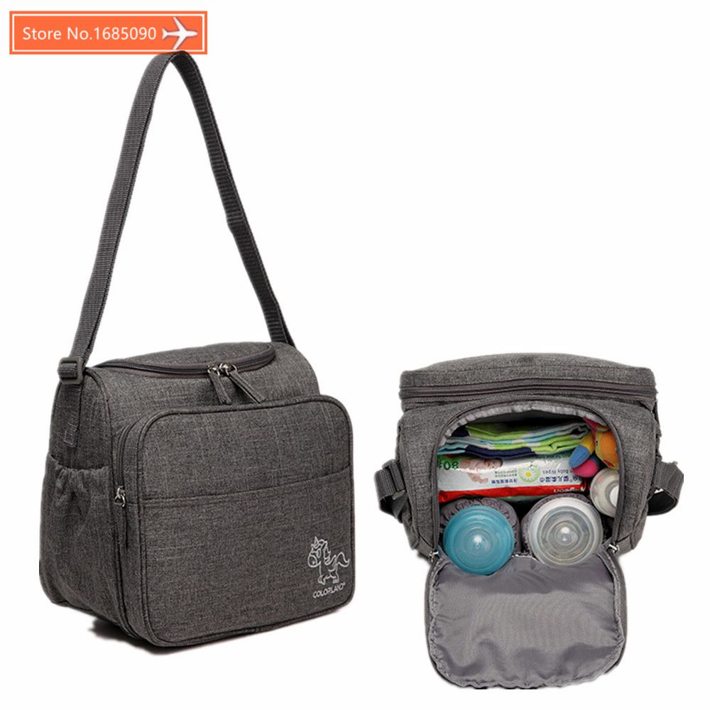 Colorland Baby diaper Bag for mom Multifunction Women messenger nappy changing bag waterproof baby insulated bag messenger bag