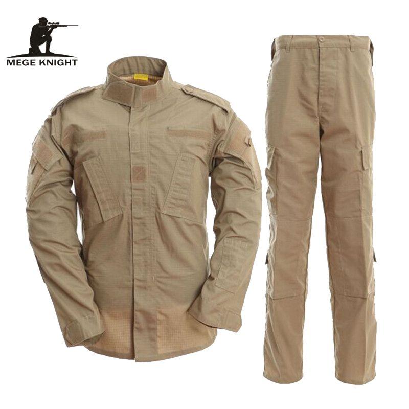 MEGE UNS ACU Armee Kampf Uniform, Militär Camouflage Multicam Anzug, Kleidung Taktische Airsoft Paintball Ausrüstung