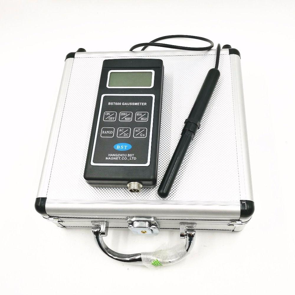 BST600 Gauss meter/Teslameter, AC/DC magnetfeld gauss meter (Tesla) BST-600, 0 ~ mt ~ mt