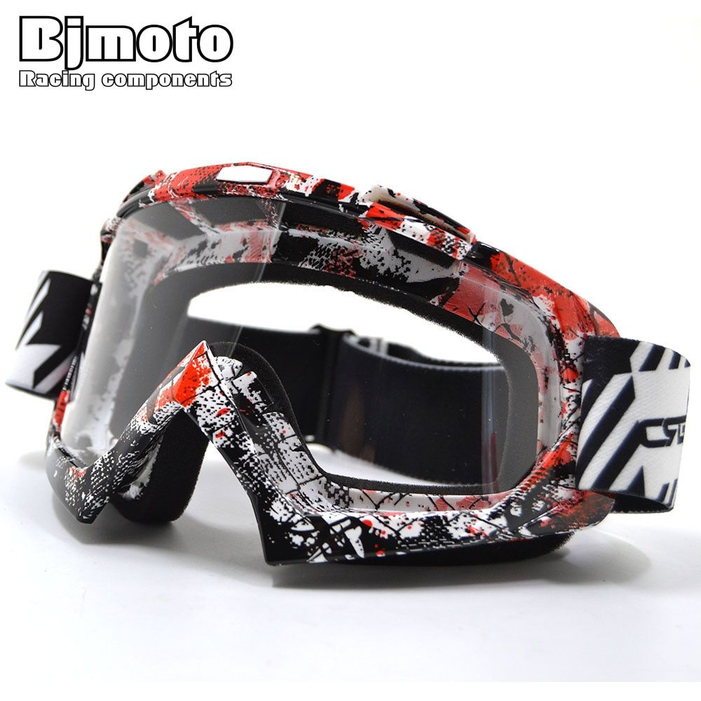 Motocross Goggles <font><b>Protective</b></font> Glasses Snowboard Men Outdoor Gafas Casco Moto Windproof For Helmet Racing Ski Motorcycle Goggle