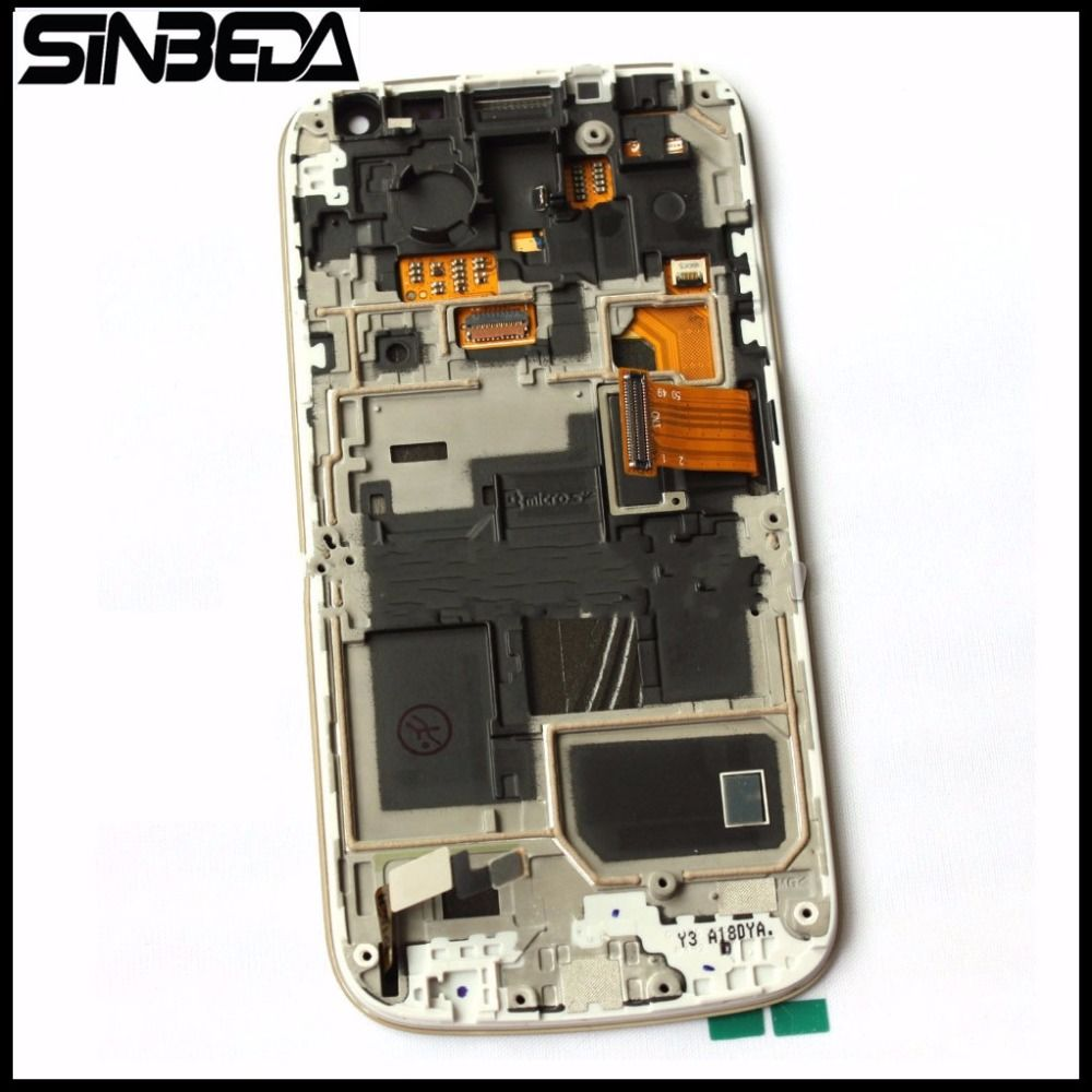 Sinbeda Top Quality Guarantee LCD For Samsung Galaxy S4 Mini I9190 i9192 i9195 LCD Display Touch Digitizer Screen with Frame