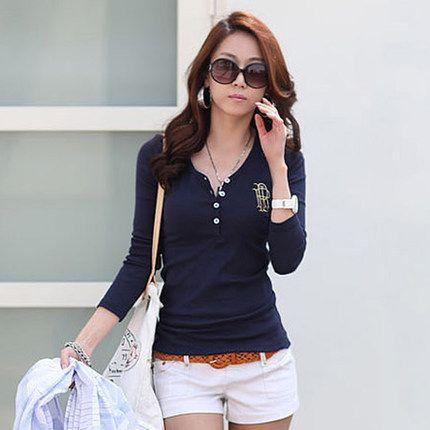 Polo Button Down Shirts Cheap-clothes-china Cheap-polo Polo Shirt Women Cotton Breathable Shirt Women Polos Neck Sleeve