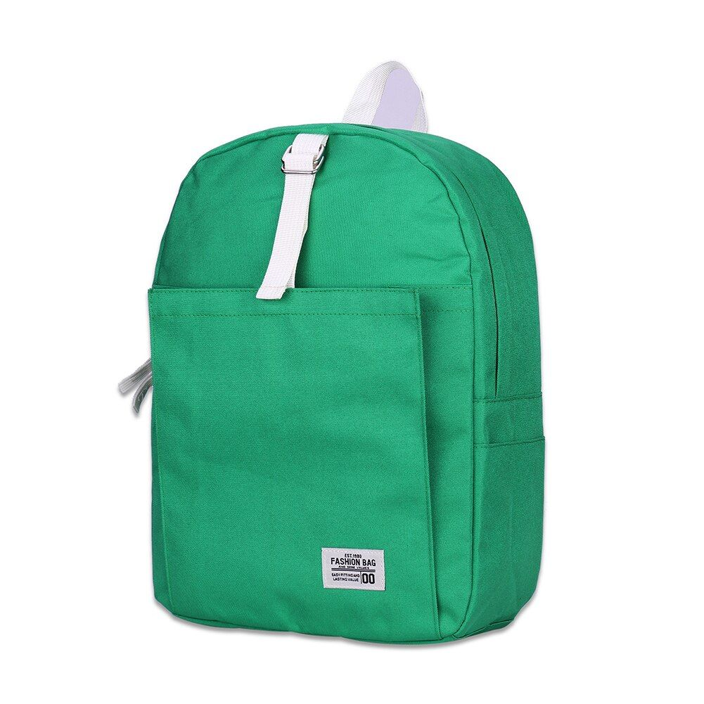 2140G Canvas Backpacks for Teenage Girls School Bag Women Men Laptop Backpack