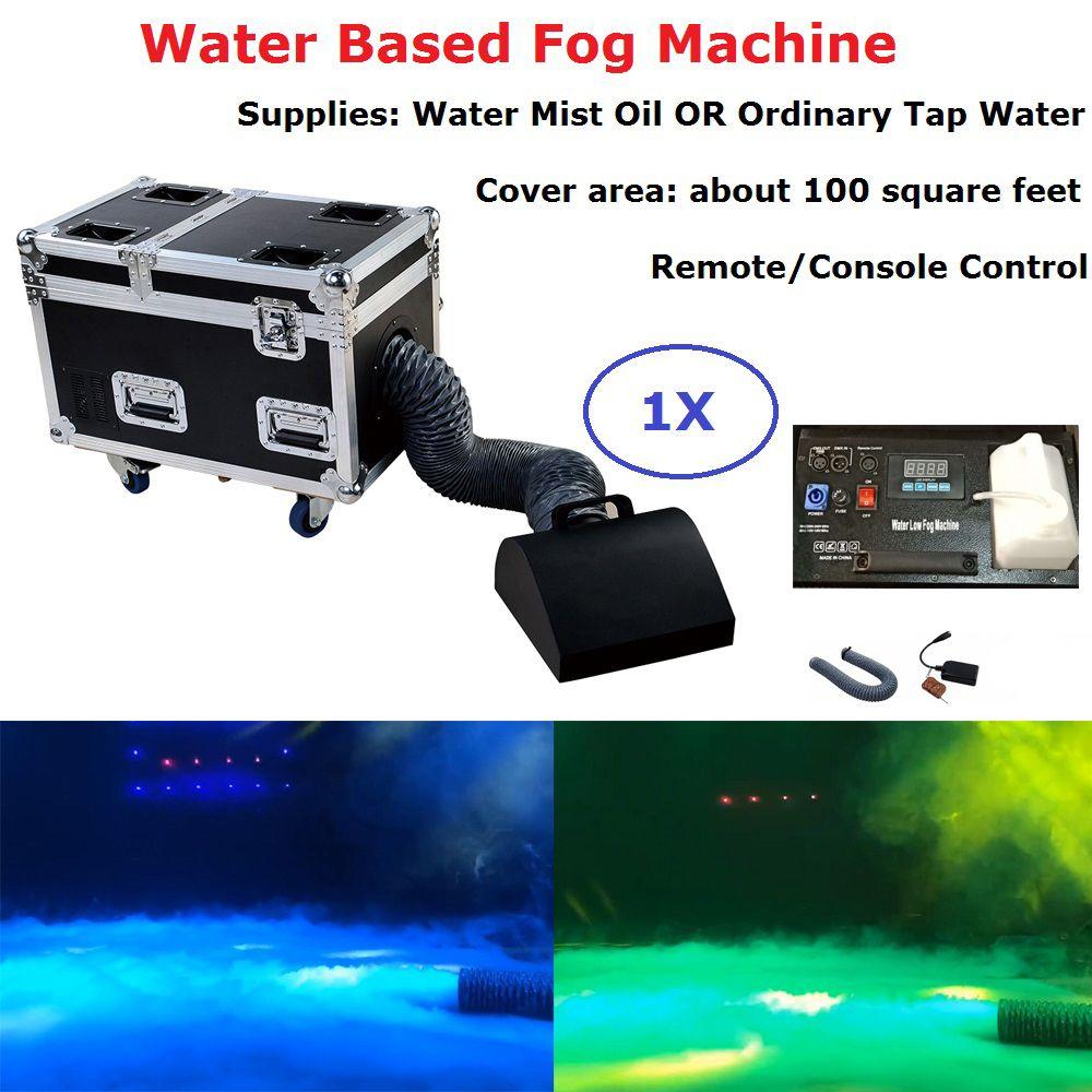Freies Verschiffen 1 Pcs Kleine Größe Wasser Basierend Nebel Maschine High Power 3000 W DMX512 Bühne Dj Wirkung Niedrigen Liegen wasser Nebel Rauch Maschine