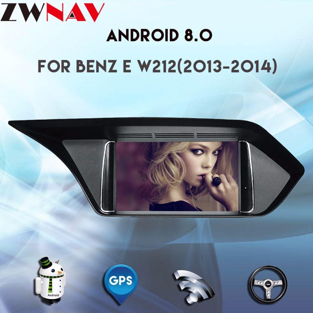 8 Core 4 gb RAM Android 8.0 für Mercedes-Benz E W212 2013 2014 7