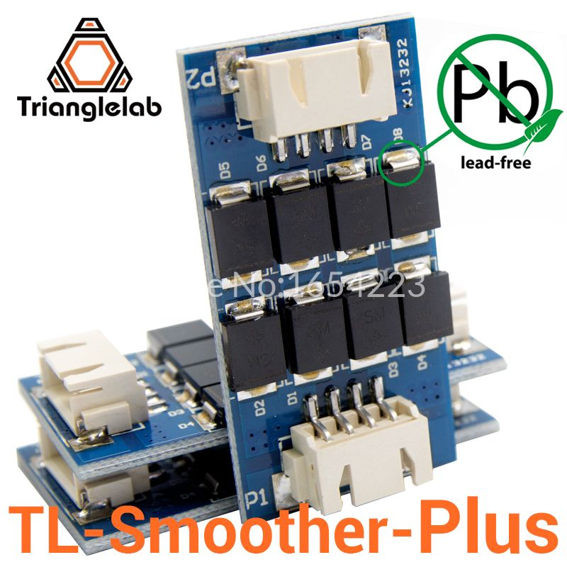 Trianglelab 3 pieces/pack TL-smoother PLUS addon module for 3D pinter motor drivers motor Driver Terminator <font><b>reprap</b></font> mk8 i3