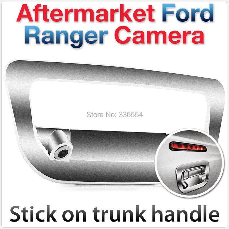 Für Ford Ranger Ansicht-rück heckklappe Parkplatz Rückfahrkamera Stamm Griff Abdeckung Auto RAPTOR PICKUP 2012 2013 2014