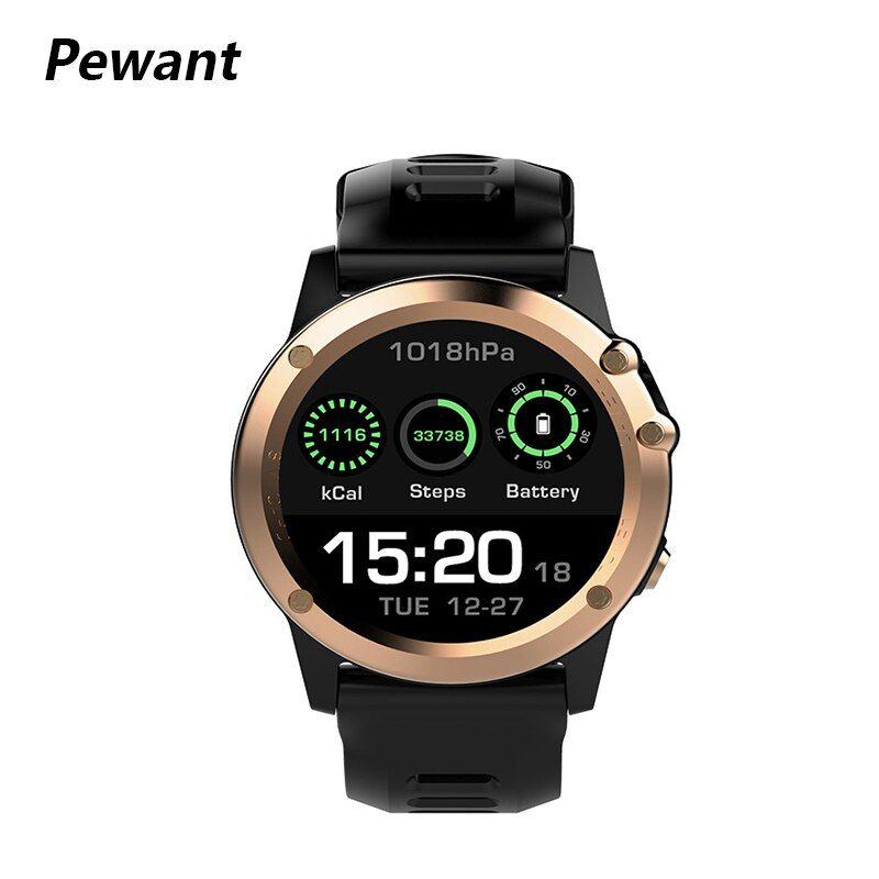 Pewant 3G GPS WIFI H1 Smart Watch MTK6572 IP68 Waterproof Support Heart Rate Tracker Smartwatch Fitness Tracker For iOS Android