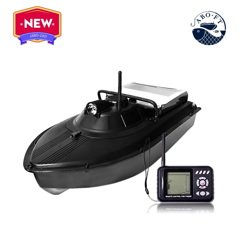 2BD bait boat with reverse and Sonar from JABO factory with sonar fish finder to release the hook