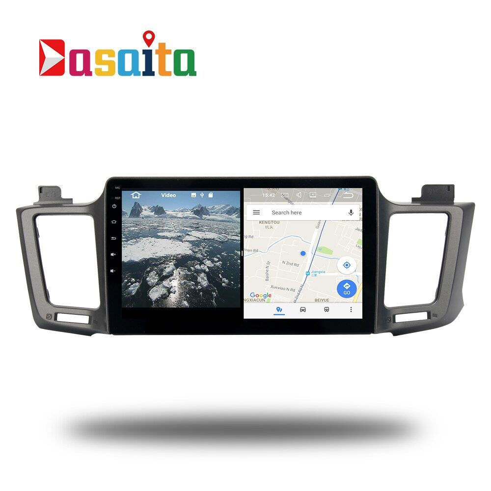Android 7.1 stereo Head Unit for Toyota RAV4 2013 - 2017 RAV 4 Permanent radio navi GPS Radio headunit wifi free map Head Device