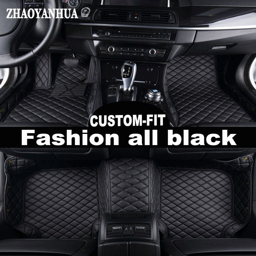 ZHAOYANHUACustom fit car floor mats for BMW 5 series E39 E60 E61 F10 F11 F07 GT 520i 525i 528i 530i 535i 530d 5D carpet liners