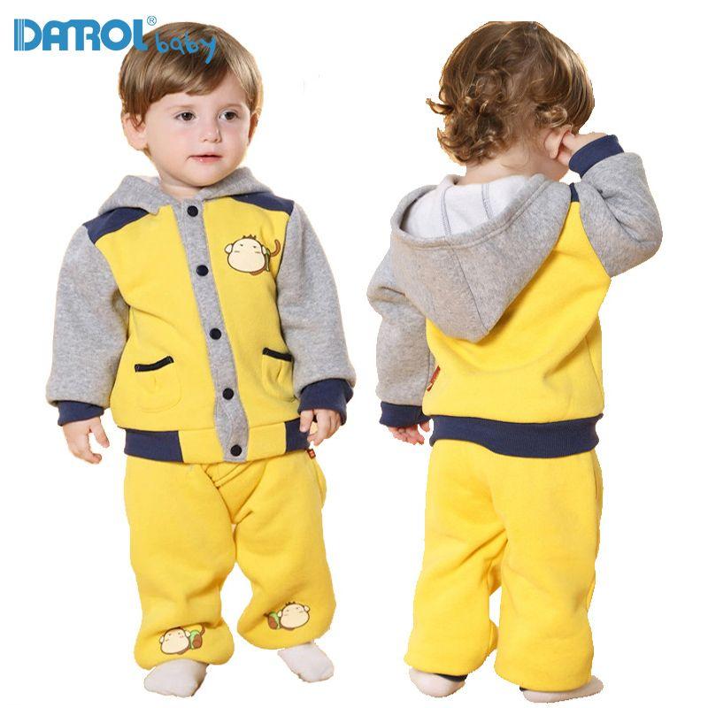 Мягкий Активный одноцветное для маленьких мальчиков девочек Толстовки флис Пальто с длинными рукавами для мальчиков верхняя одежда длинны...