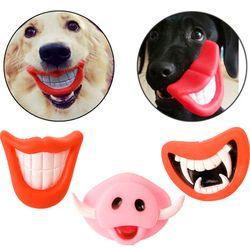 Brinquedos do cão Para Pequenas e Grandes Cães Gatos Pet Squeak Brinquedos de Vinil Criativo Cola Nuk Fontes Do Cão de Filhote de Cachorro Mastigar Brinquedos Atacado 40DC13
